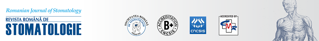 Romanian Journal of Stomatology Logo